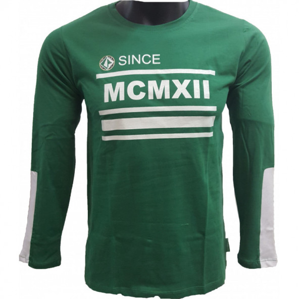 MAGLIA COTONE VERDE M/L MCMXII