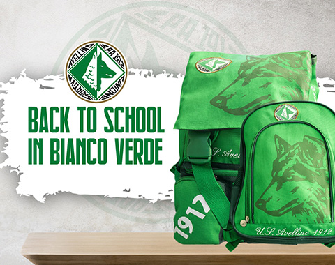 Back to School in bianco verde